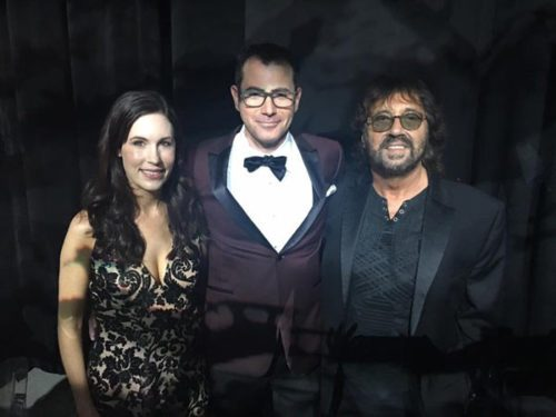 With Hollywood writer director-producer and Genius 100 Visionary Shuki Levy and accplaimed food blogger Tori Avey